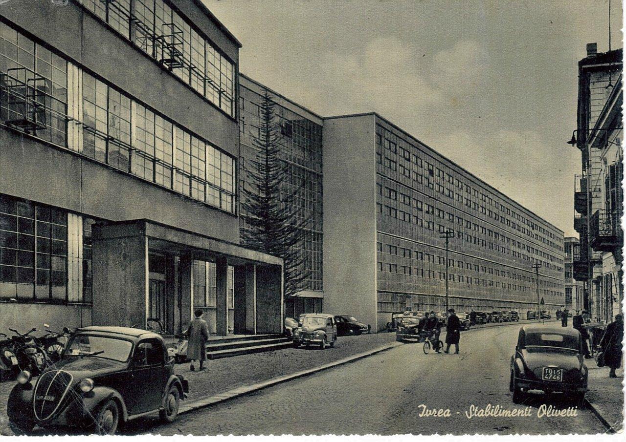 The Olivetti Company building, Ivrea, Italy