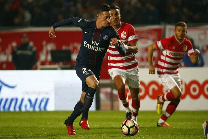 but Augustin, but Club Africain PSG, resume Club Africain PSG, video Club Africain PSG, buts Club Africain PSG-