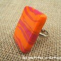 bague rose orange 10 euros
