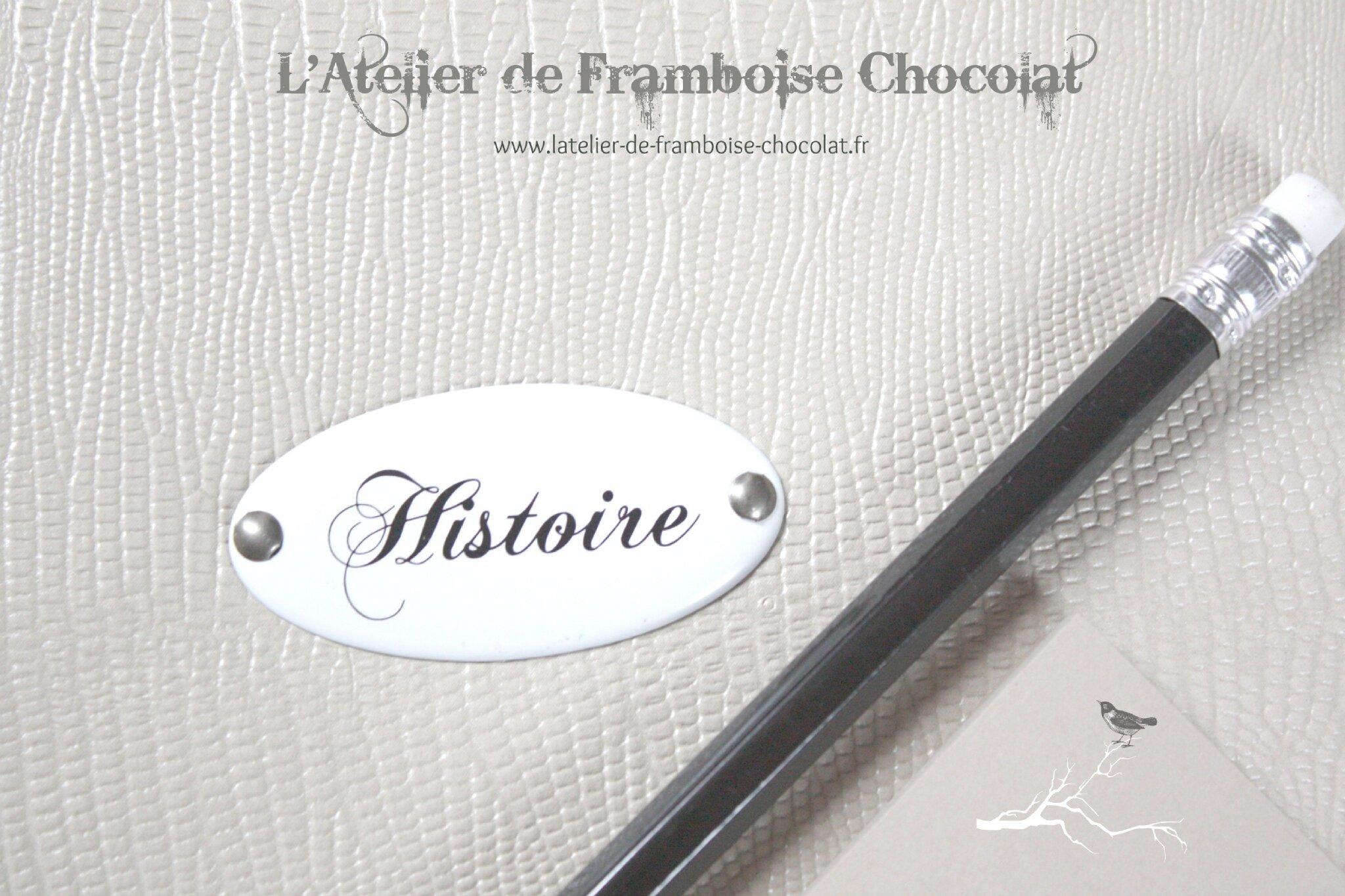 Agenda 2013 2014 L'Atelier de Framboise Chocolat_3