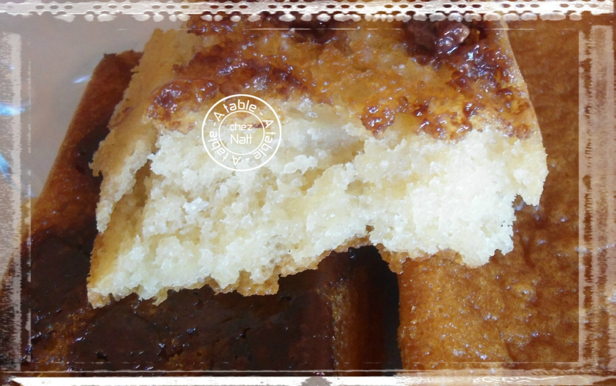 G teau au yaourt sans oeufs ni beurre a table chez natt - Gateau sans oeuf ni beurre ...
