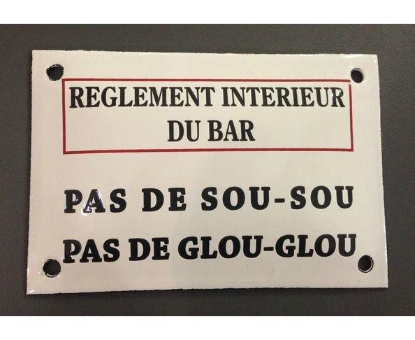 plaque-emaillee-bar-reglement-interieur-cafe-francais-humour-decale-humoristique-vintage-retro