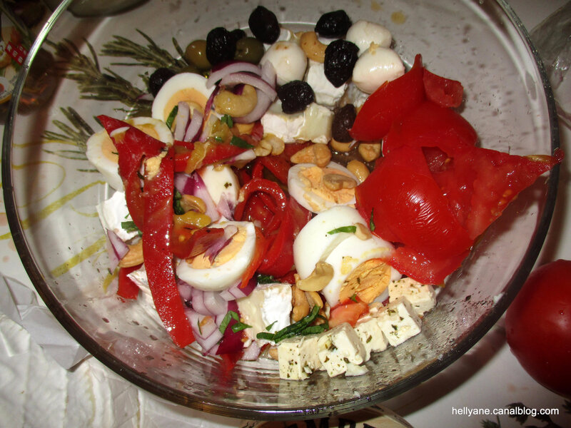 salade fromages - hellyane passion