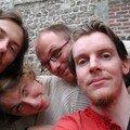 Gilles, Laura, Olivier et moi