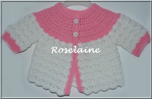 modele brassiere bebe crochet