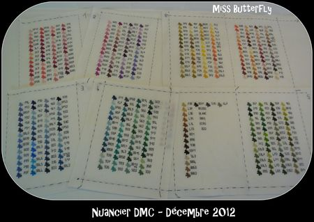 Nuancier DMC -Miss Butterfly 006