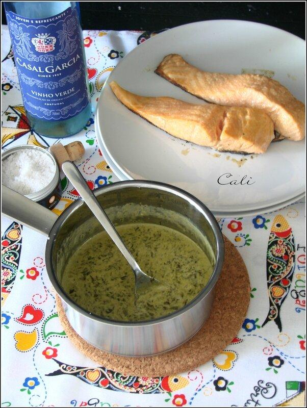 Sauce à l'Oseille & au Vinho Verde Branco 001