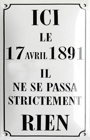 Ici le 17 avril 1891