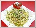 0444- spaghettis au piment, thon et citron
