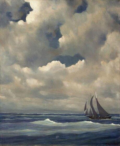 lafarge voilier dans la tempete