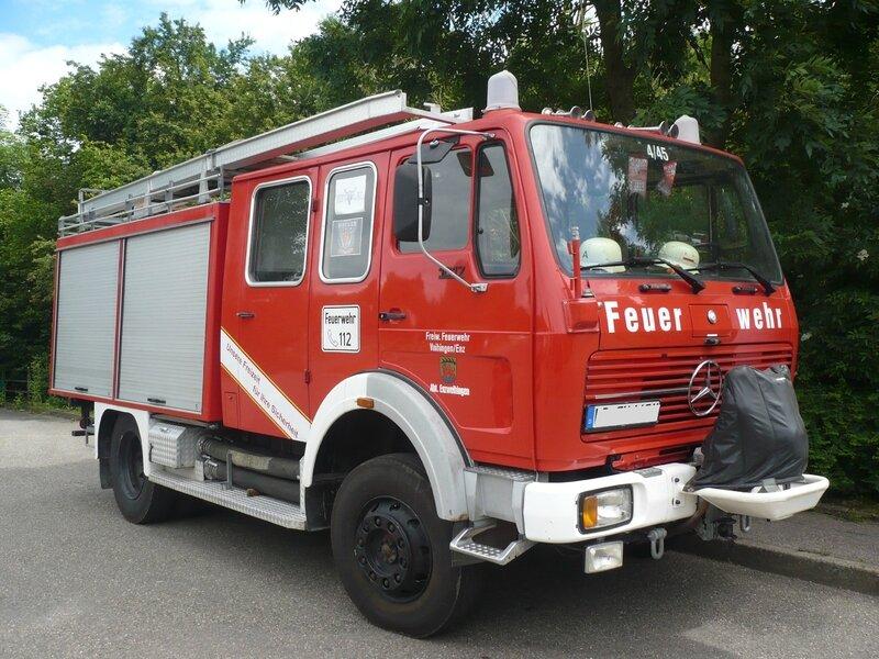 MERCEDES 1017 Freiwillige Feuerwehr Vaihingen équipé par Ziegler Entzweihingen (1)