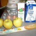 La tarte aux pommes improvisée