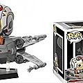New funko pop luke and his x-wing