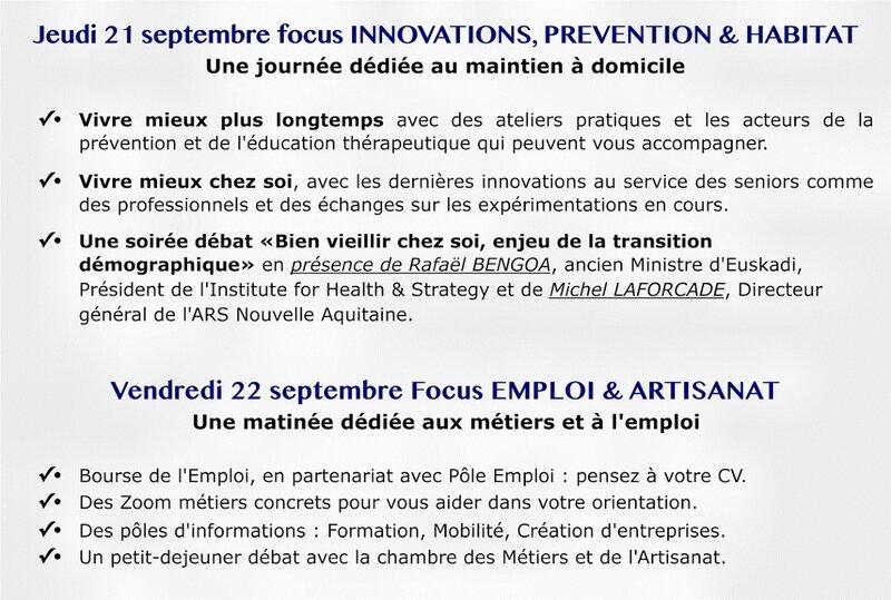 Salon SILVER ECONOMIE en Ruralité 21-22 septembre 2017 La Réole (2)