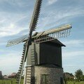 Preetjesmolen  Heule en Flandre Occidentale (Belgique)