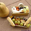 Bento #014: bento d'Halloween... de la conception  la ralisation d'un bento.