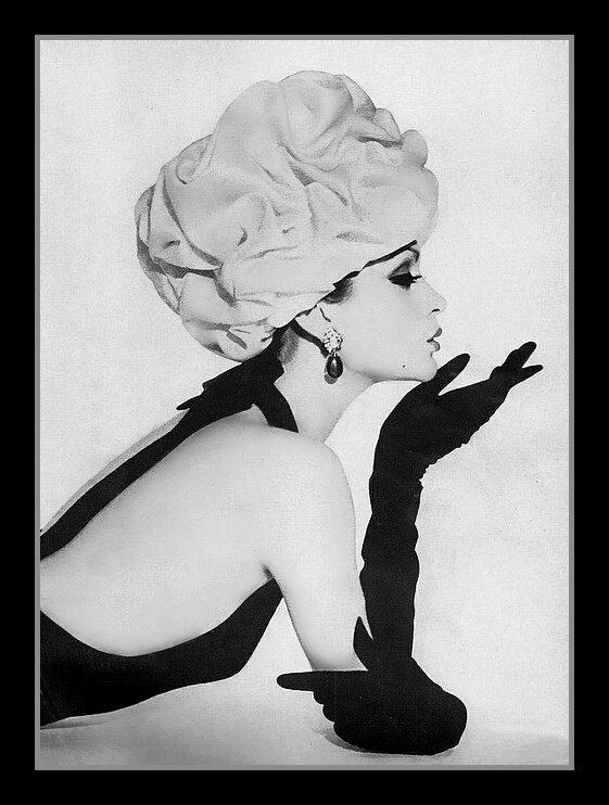 Balenciaga hat, 1961.
