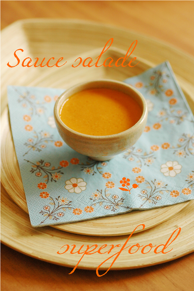 Sauce salade superfood