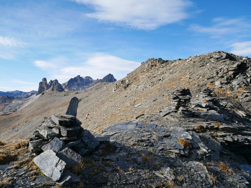 le Col des Roches, derrière nous...