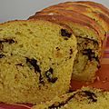 Brioche chocolat orange