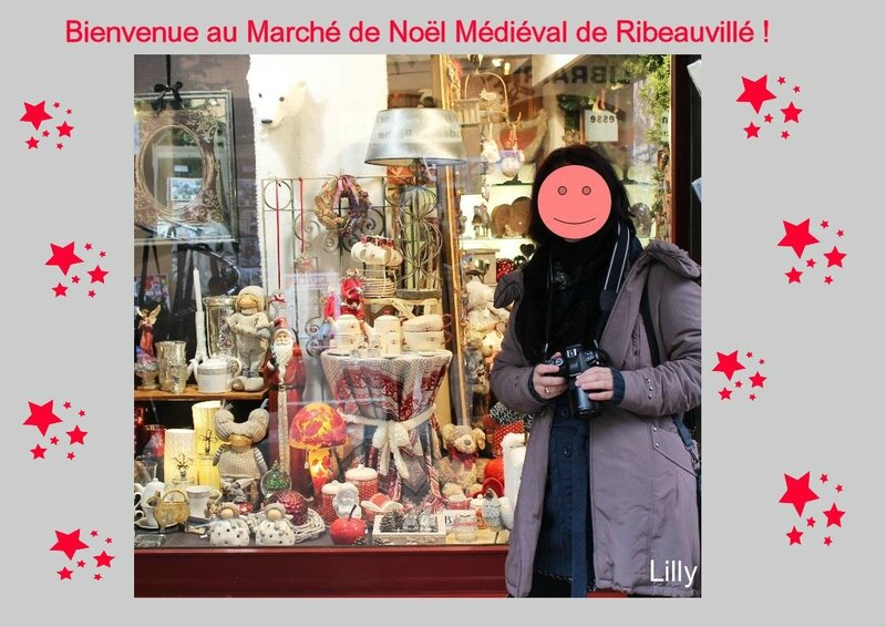MARCHE NOEL MEDIEVAL RIBEAUVILLE 01
