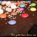P'tit gâteau au chocolat, glaçage au chocolat