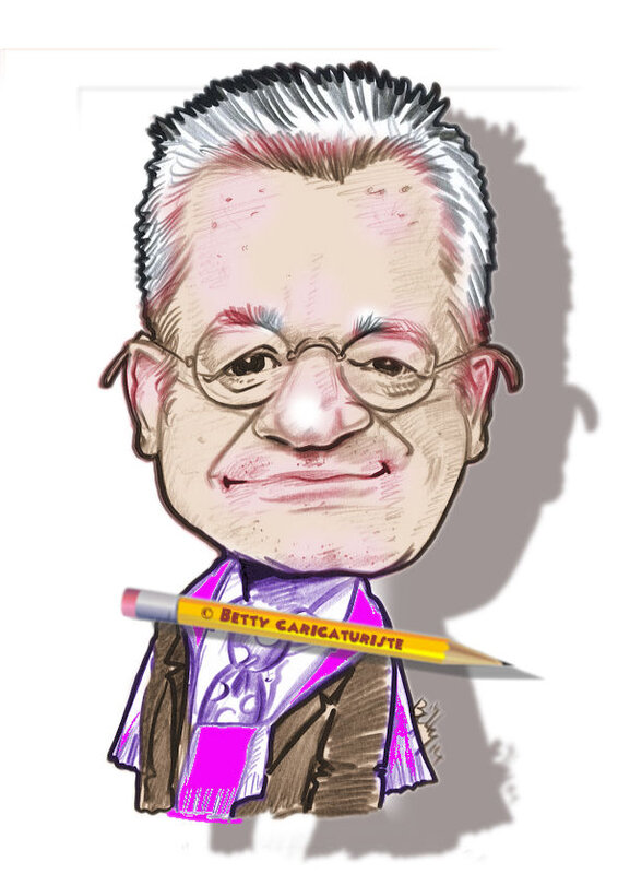 Jean-Luc Petitrenaud caricature gastronomie française
