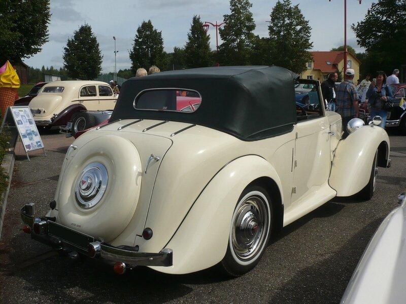 ALVIS TA 14 drophead coupé carrossé par Carbodies 1948 Hambach (2)