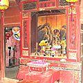 HOI AN - autel bouddhiste chez un particulier