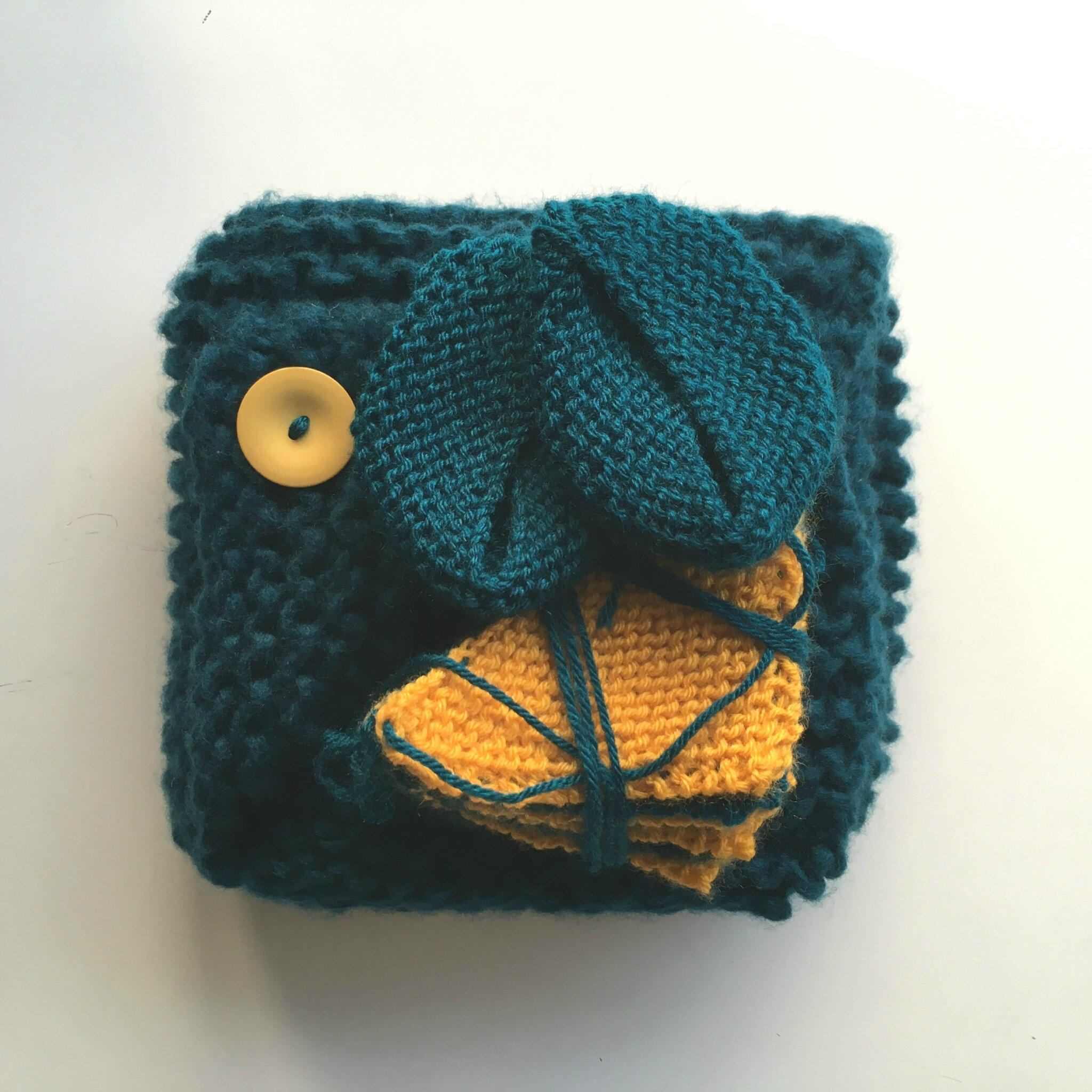 Une belle portion de canard et un soupçon de moutarde {La baby box au tricot de Samuel ♥}