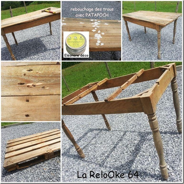 Restaurer table bois for Restaurer une chaise en bois