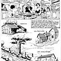 Bressuire 1918: des rimes de jamblan sur une b.d. de kayo