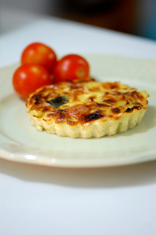 Mini Quiches Sans P 226 Te Au Poireau Et Au Brie Sweet Recipes