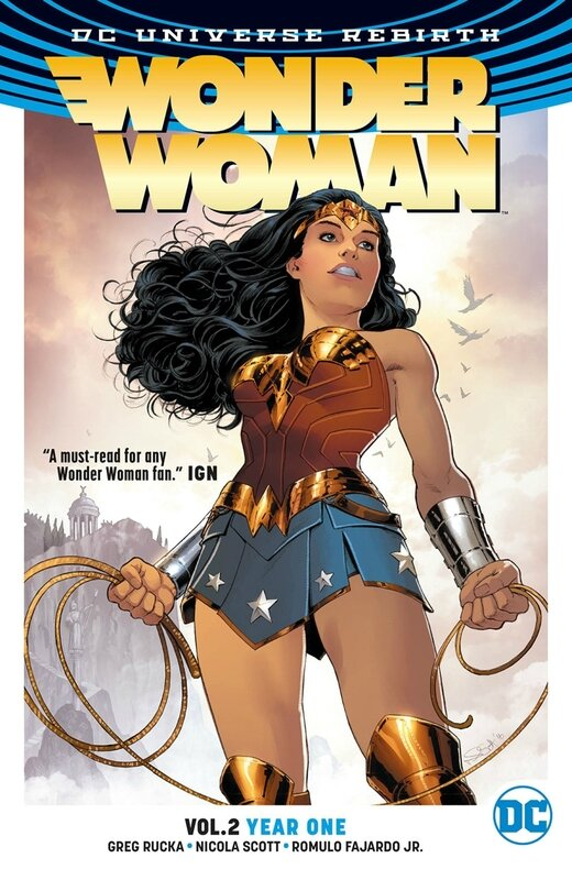 rebirth wonder woman vol 02 year one TP