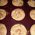 Muffin aux poires et noix de macadamia