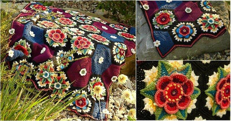 Stylesidea-Fridas-Flowers-Blanket-free-crochet-pattern
