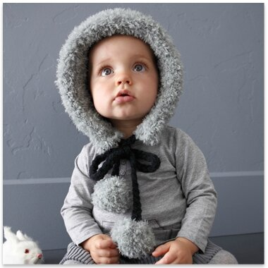 modele tricot bebe laine teddy