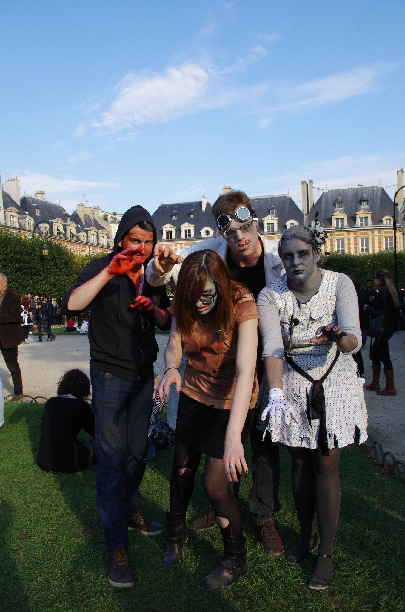 Des zombies dans Paris, édition 2015