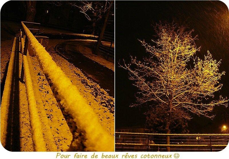 Quartier Drouot - Neige de la nuit