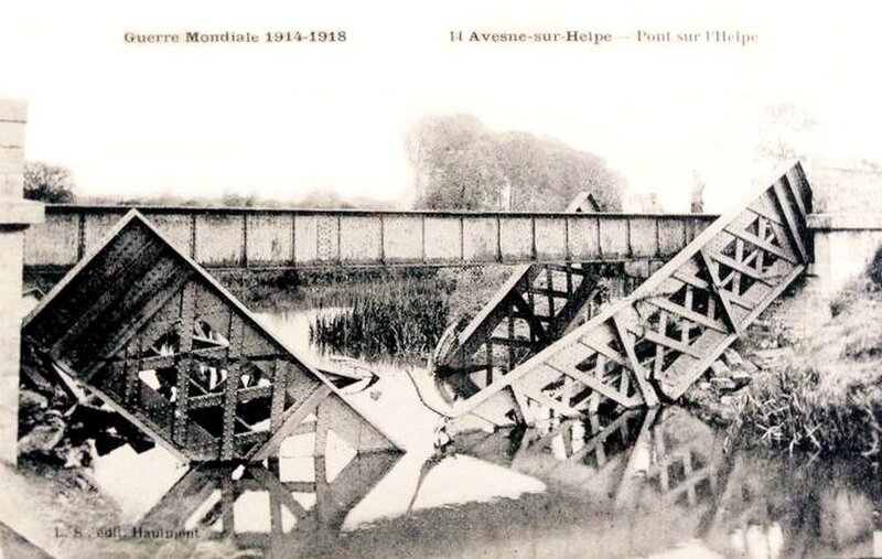 AVESNES-Le Pont détruit