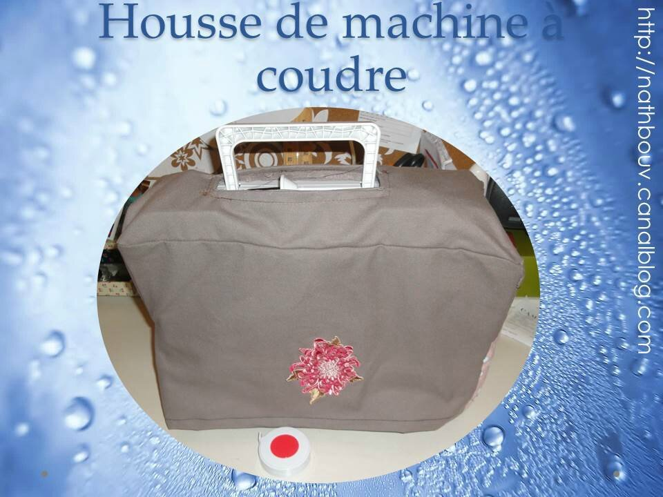 Housse de machine coudre les cr as de nathbouv - Housse de machine a coudre ...