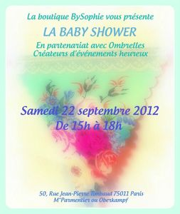 OMBRELLES EVENEMENT SEPT12