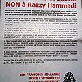 L'escroc razzy hammadi, candidat ps, accusé par les socialistes de montreuil et de bagnolet en colère