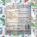 Ne pas oublier les cadeaux .....en 1908 ....