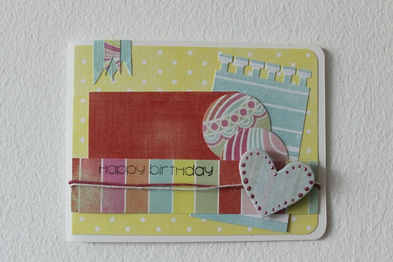 Happy Birthday card 2014