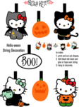 halloween-hello-kitty-guirlande
