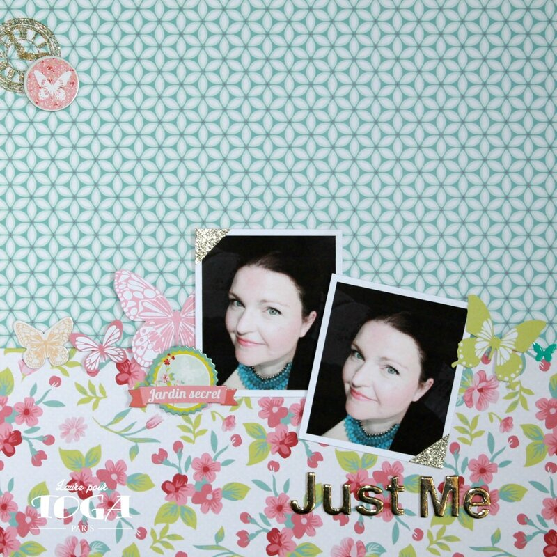 PAGE JUST ME_Collection Jardin Secret-DT Toga Laure