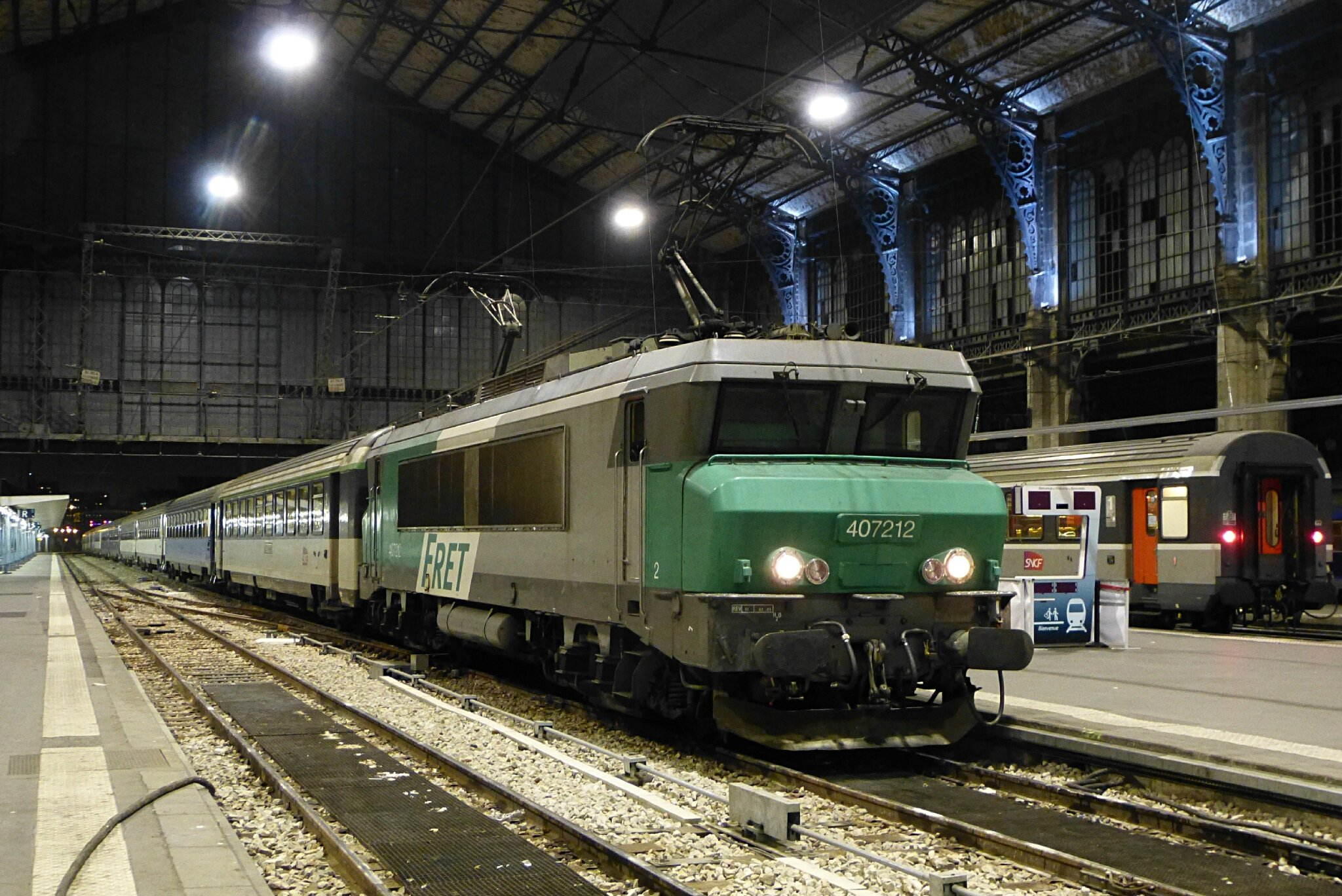 A bord du paris la tour de carol transportrail le for Train tours paris austerlitz