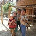 Enfants, pres de Nong Khiaw