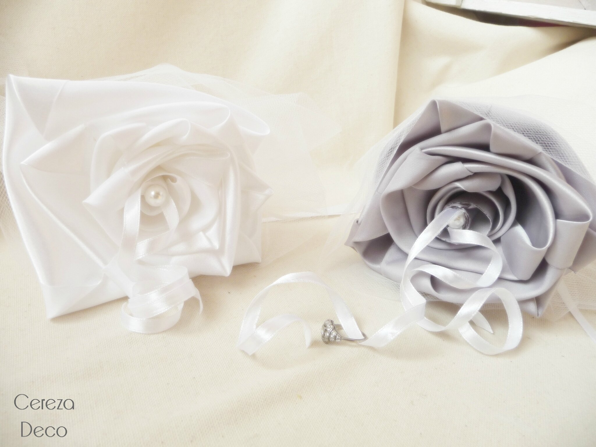 ... alliance original - Cereza latelier du bouquet de mariage original